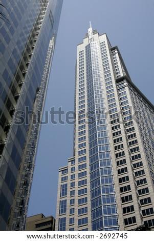 Modern Tall Urban Office Building In Sydney, Australia - stock photo