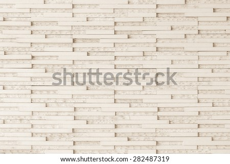 Modern tile wall : Granite tile wall pattern texture background in light sepia cream color tone