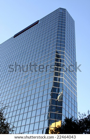 Modern Tower Architecture in Tampa Florida - stock photo