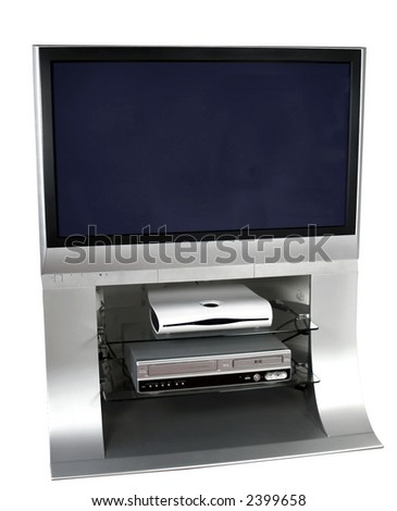 Modern TV centre for home viewing and displaying your advertisement