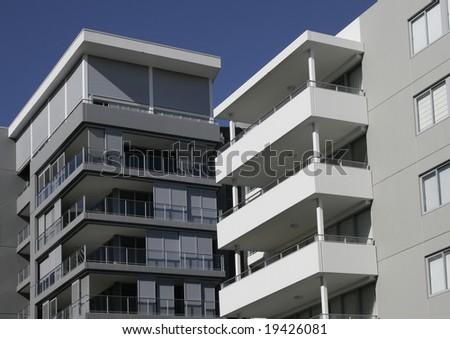 Modern Urban Apartment Building In Sydney, Australia - stock photo