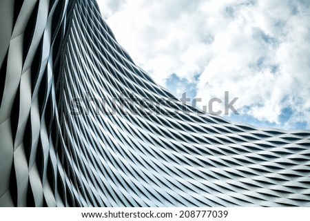 Modern urban architecture. Abstract background - stock photo