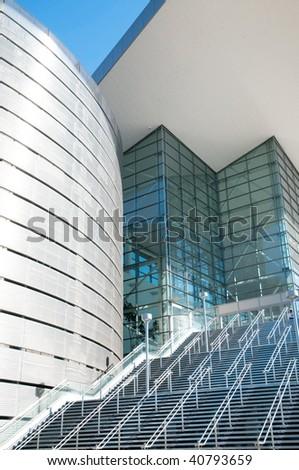 Modern urban architecture, details - stock photo