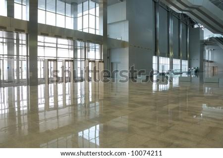modern urban interior - stock photo