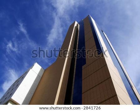 Modern urban views and architecture in the Mediterranean island of Malta - stock photo