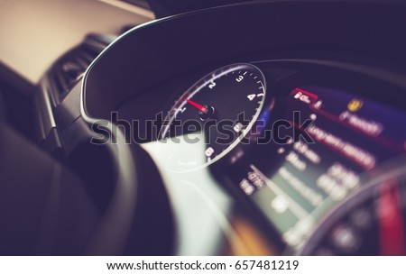 Modern Car Dashboard Car Driving Vehicle Stock Photo - Car image sign of dashboardcar dashboard icons stock photospictures royalty free car