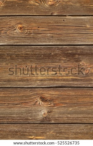 Modern Vintage Barn Wood Horizontal Plank Vertical Wooden Background. Brown Barnwood  Interior Design Element Texture