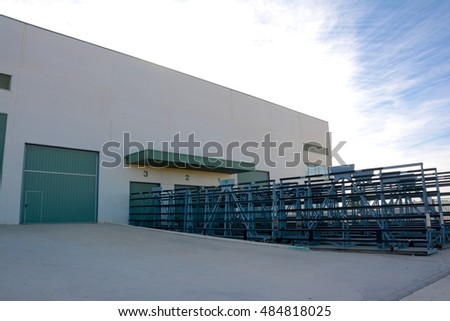 Modern warehouse