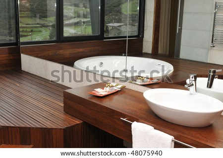 Modern WC - stock photo