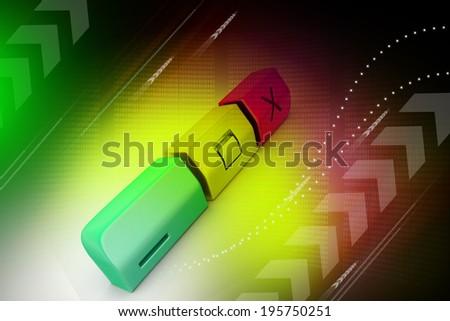 modern web buttons - stock photo