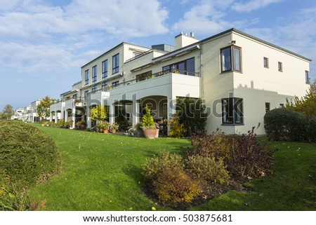 Danish Modern Architecture Residential 3d modern house stock illustration 73444150 - shutterstock