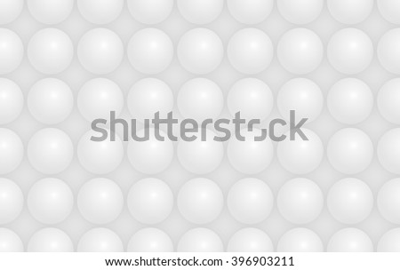 Modern white hemisphere shaped structure background texture - stock photo