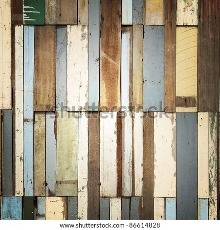 Modify wood pattern : decoration wall. - stock photo