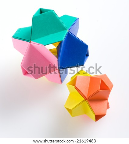 "Modular origami, named ""Little Turtle"""
