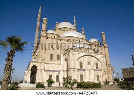 Mohamed Ali Mosque,the Saladin Citadel of Cairo,Egypt - stock photo