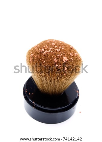 Moisturizer brush isolated on a white background...