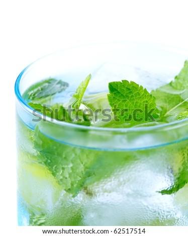 Mojito drink - stock photo