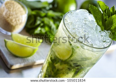 Mojito Lime Drink Cocktail