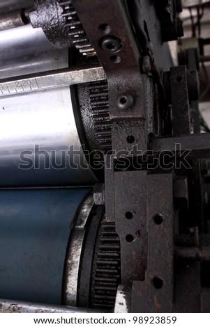 Old Machine Write Braille Stock Photo 42901057 Shutterstock