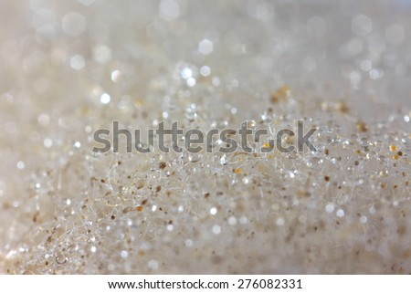 Mold on food closeup (microphotography) - stock photo
