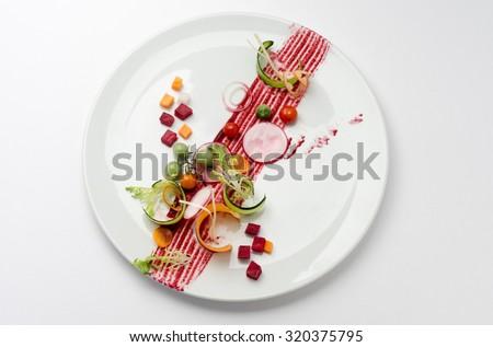 Molecular cuisine - stock photo