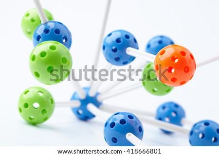 Molecular Structure - stock photo