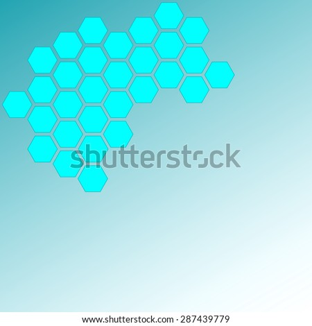 Molecular structure; science; research; laboratory; microbiology - stock photo