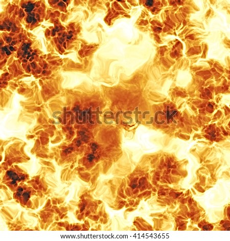 Molten lava explosion, abstract texture background, digital illustration art work. - stock photo