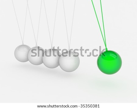 Momentum concept - stock photo
