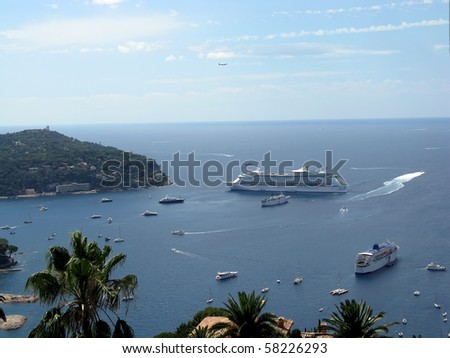 Monaco Bay - stock photo