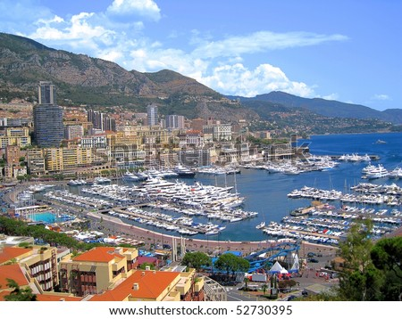 Monaco F1 Grand Prix - stock photo