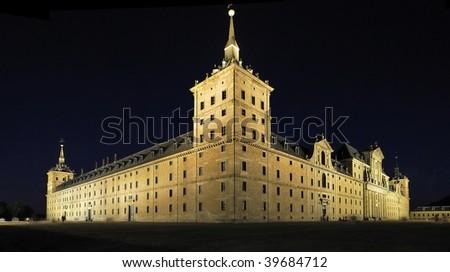 Monasterio de El Escorial I - stock photo