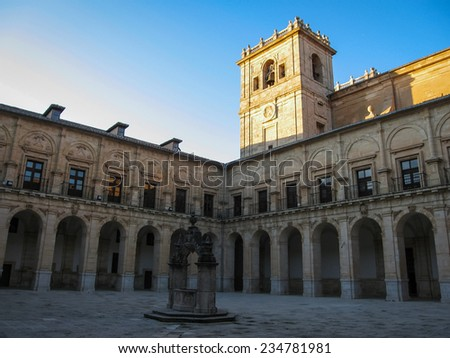 Monastery at Ucles, Castilla la Mancha, Spain