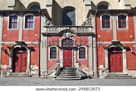 Monastery church Klosterkirche in Zitta, Germany - stock photo
