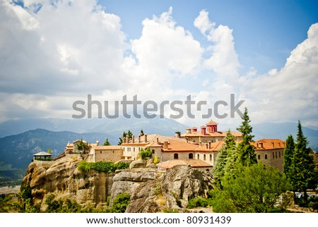 Monastery from Meteora-Greece