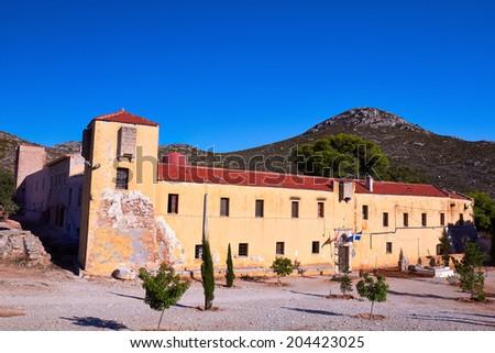 Monastery Gouvernetou of Chania in Crete, Greece. - stock photo