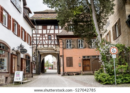 Monastery in Maulbronn Germany in June 03 2014