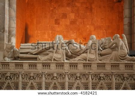 Monastery of Batalha - stock photo