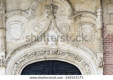 Monastery of San Antonio del Real in Segovia (Spain) - stock photo