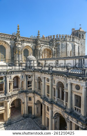 Monastery of the Order of Christ - the main stronghold of the Portuguese Templars and their successors , the Order of Christ
