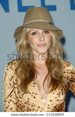 Monet Mazur at the 2007/2008 Chanel Cruise Show Presented by Karl Lagerfeld. Hanger 8, Santa Monica, CA. 05-18-07 - stock photo