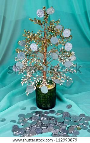 Monet tree - stock photo