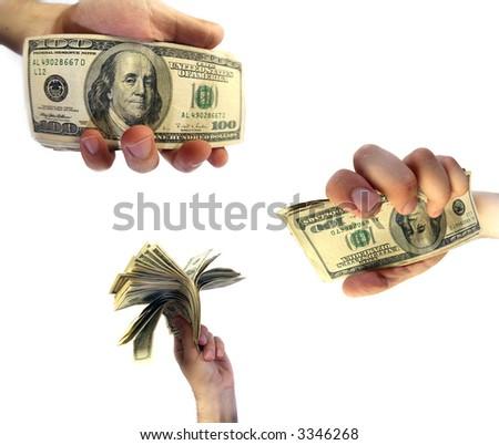 money - American dollar - stock photo