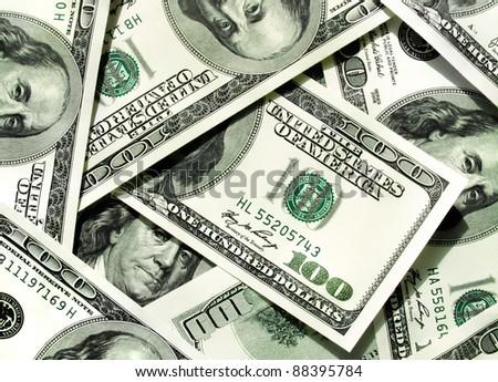 money background from dollars usa - stock photo