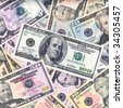 Money background,high resolution picture. - stock photo