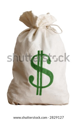 Money Bag - stock photo