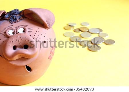 money-box - stock photo