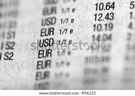 Money change - stock photo