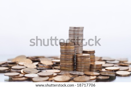 money city - stock photo