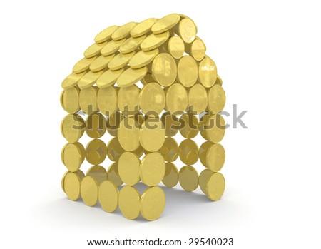 money concept 3d rendering - stock photo